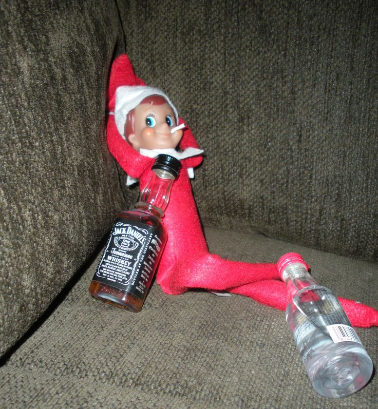 34 Shades Of Elf On The Shelf
