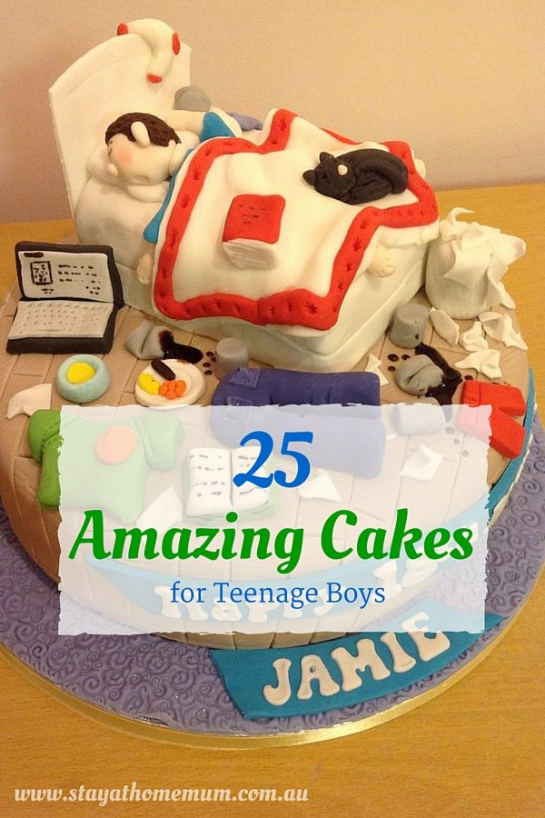 Incredible 25 Amazing Cakes For Teenage Boys Stay At Home Mum Funny Birthday Cards Online Inifodamsfinfo