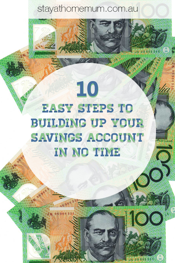 Easy Steps to Building Up Your Savings Account