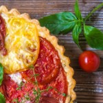 Tomato Pie with Basil and Gruyere Cheese 2 e1446773421441 | Stay at Home Mum.com.au