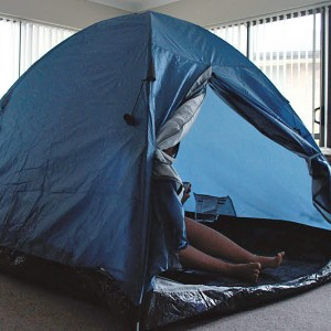 Melbourne Rental Crisis Becomes In-Tents