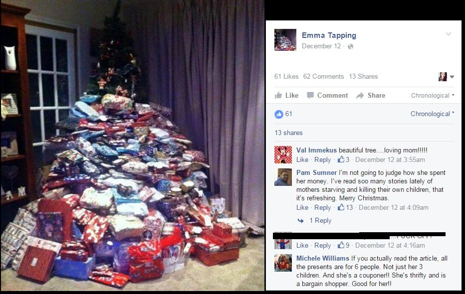 when a mother s controversial gift giving goes viral stay at home mum