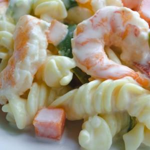 Easy Cold Seafood Pasta Salad