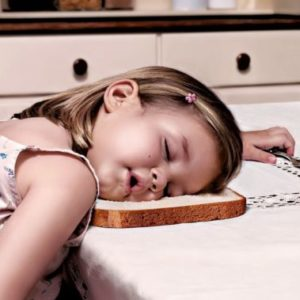 A Compilation of Kids' Most Awkward Sleeping Positions