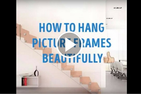 3 ways to hang frames beautifully stay at home mum On ways to hang 3 pictures
