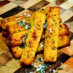 Baked Polenta Chips   Stay at Home Mum.com.au