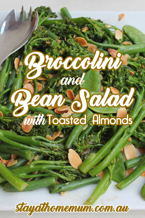 Broccolini and Bean Salad with Toasted Almonds