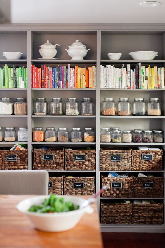 30 Amazingly Organised Pantries | Stay at Home Mum