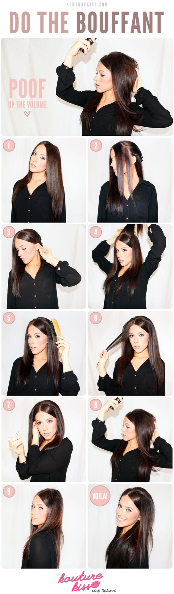25 Pretty Bobby Pin Hairstyles | Stay At Home Mum