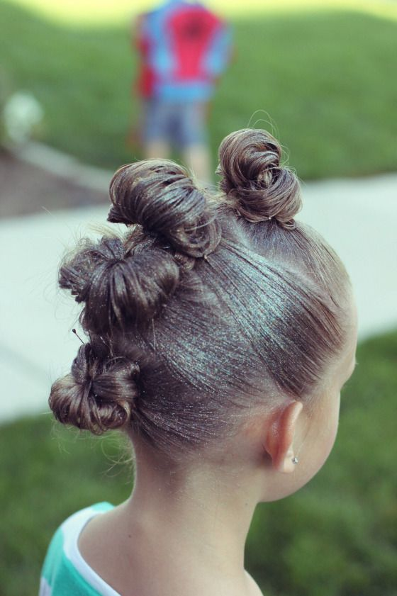 30 Crazy Hair Day Ideas For Girls