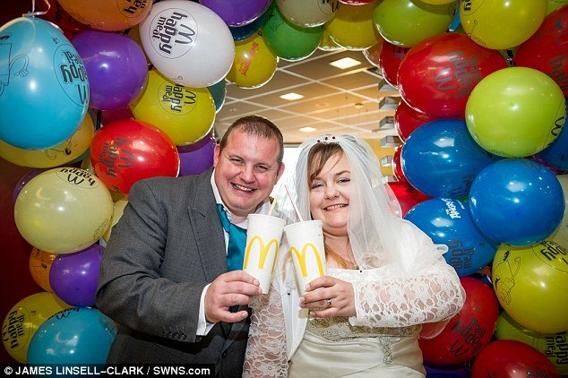 Couple Get Married At McDonalds