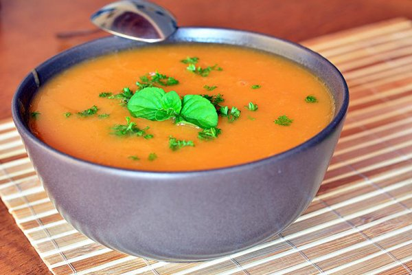 Sweet Potato and Pumpkin Soup For Under $10