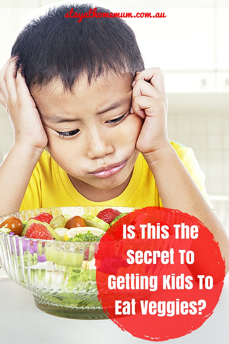 Is This The Secret To Getting Kids To Eat Veggies? | Stay At Home Mum