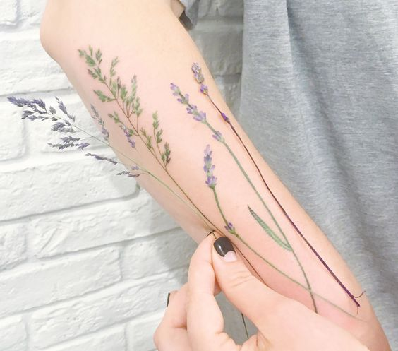 A Gorgeous Soft Tattoo Method: Watercolours | Stay At Home Mum