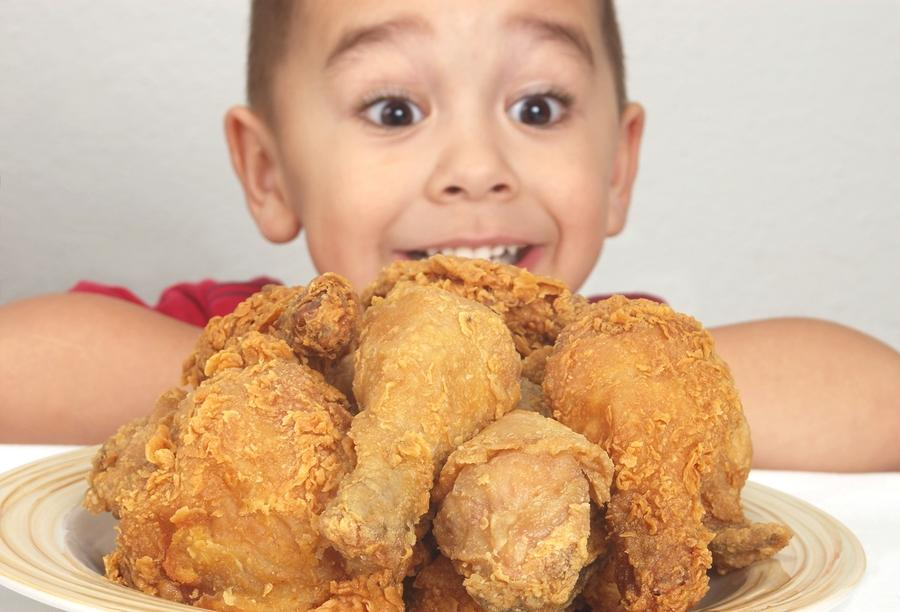 Fried Chicken Stay At Home Mum