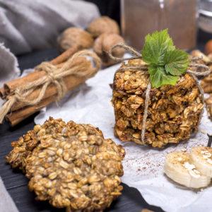 Super Simple Banana Oat Breakfast Cookies
