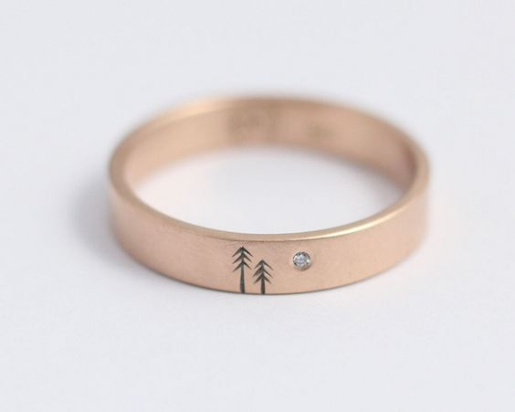 25 unique wedding bands for men stay at home mum - Unique Wedding Rings For Men