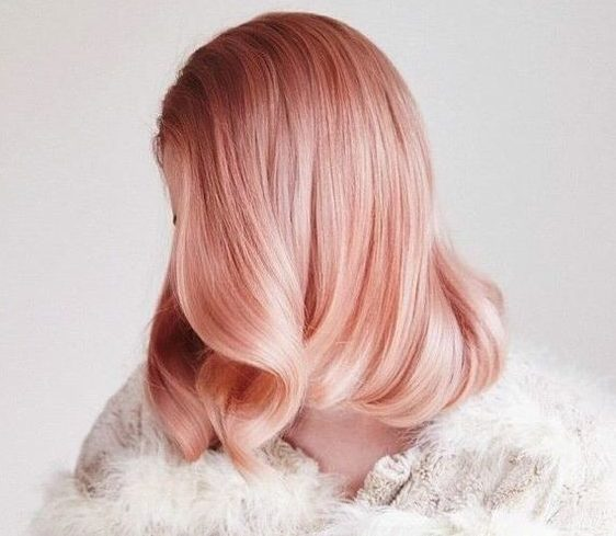 15 Rose Gold Hairstyles That'd Make Any Girl Shine   Stay At Home Mum