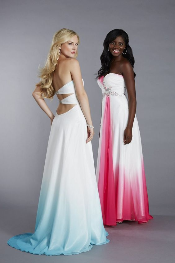 18 dip dye wedding gowns that will unleash the gwen for Pawn shops that buy wedding dresses