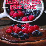 Dairy and Egg Free Cake | Stay At Home Mum