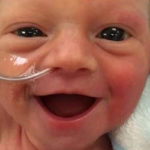 Baby Freya is The World's Happiest Five-Day-Old Baby | Stay at Home Mum