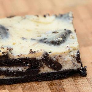 Baked Oreo Cheesecake Slice