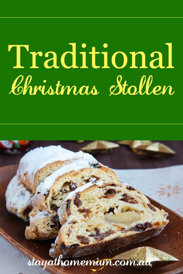 Traditional Christmas Stollen