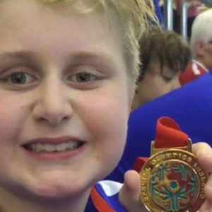 """Nine-Year-Old Boy Disqualified From Competition For Swimming """"Too Fast"""""""