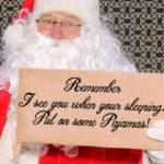 bigstock Santa Claus with a funny Cardb 214616032 e1512451096435 | Stay at Home Mum.com.au