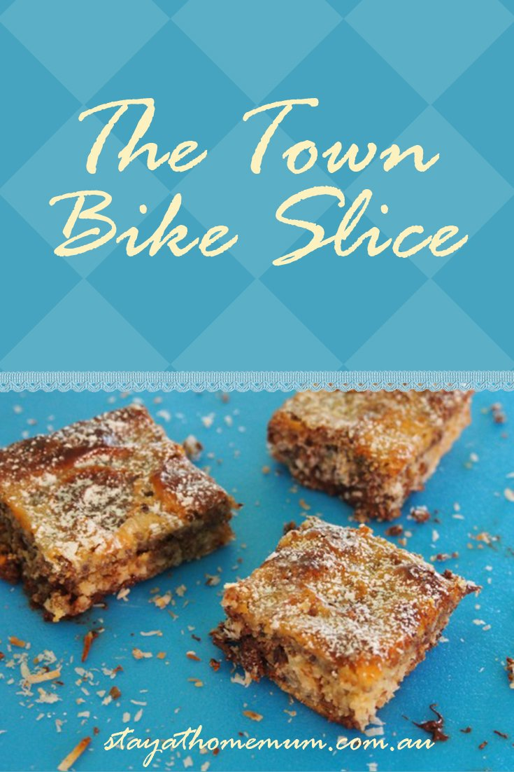 The Town Bike Slice | Stay at Home Mum