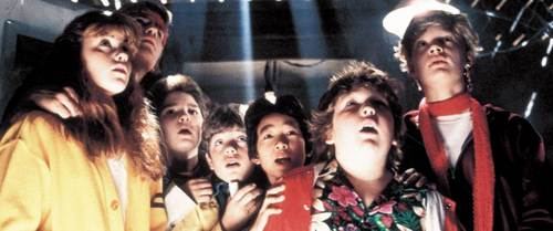 The movie 'The Goonies' is about...