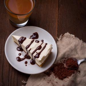 Coffee Liqueur Cheesecake
