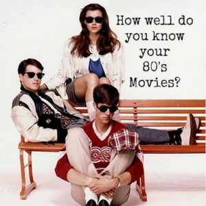 How Well Do You Know Your 80's Movies?