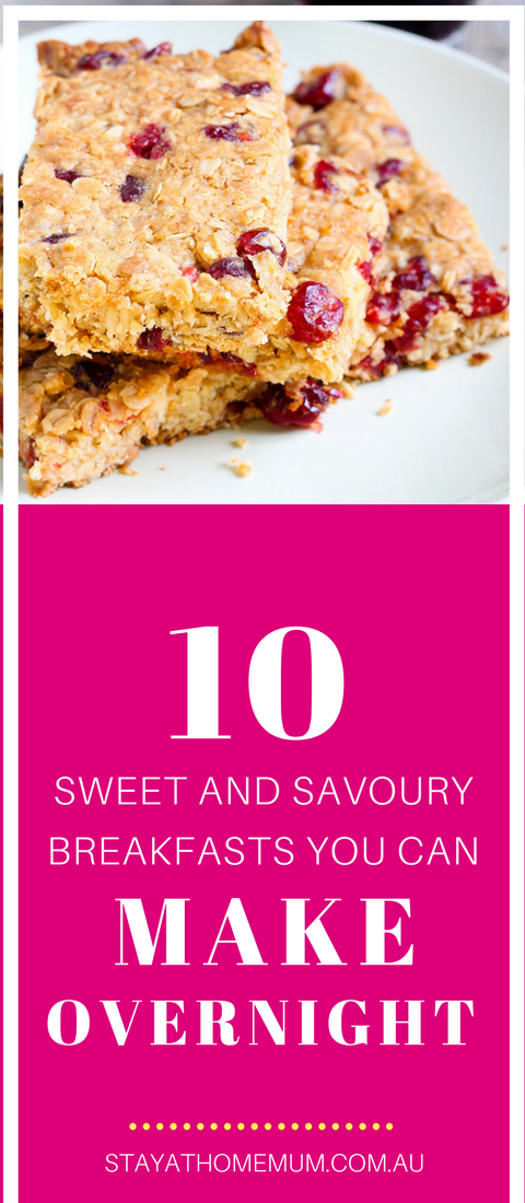 10 Sweet and Savoury Breakfasts You Can Make Overnight