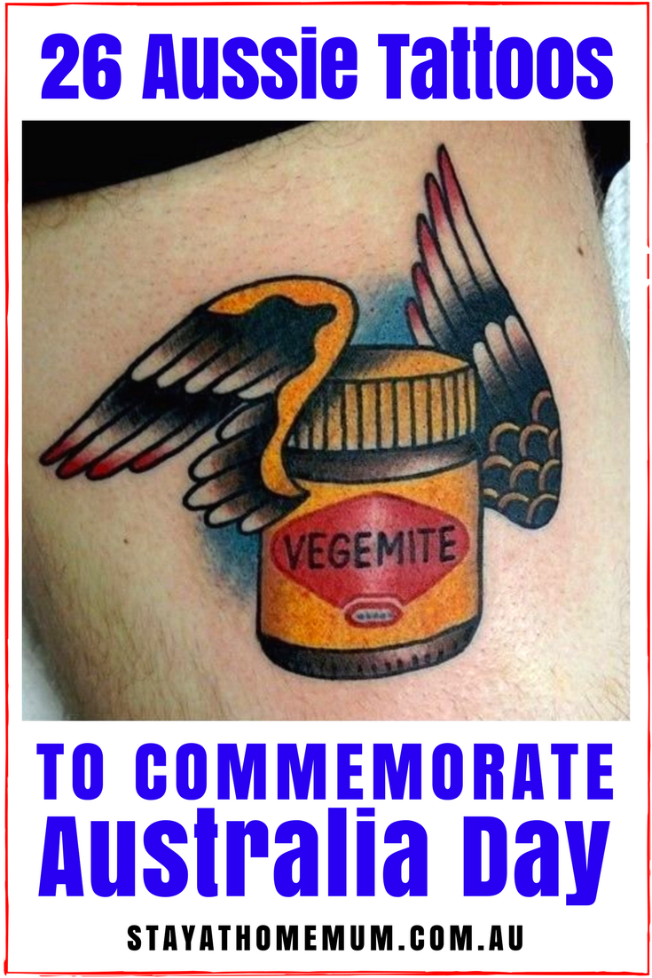 26 Aussie Tattoos To Commemorate Australia Day