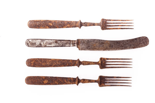 How To Remove Rust Marks From Cutlery