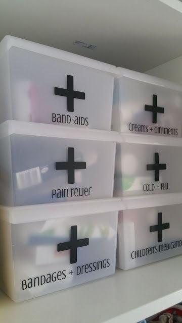 16 Cool Medicine Box Organisation Ideas