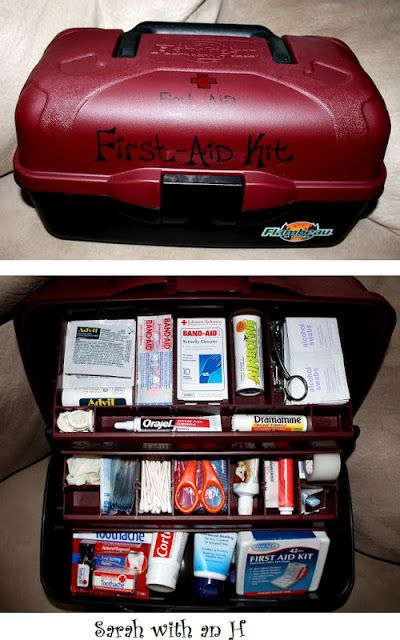 Medicine Box Organisation Ideas | Stay At Home Mum