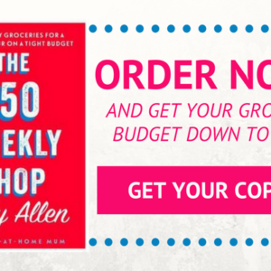 Get Ready For My 3rd Book – The $50 Weekly Shop!