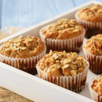 Apple Cinnamon Oat Muffins | Stay at Home Mum