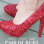 Make Your Own Pair of Ruby Slippers for Under $5