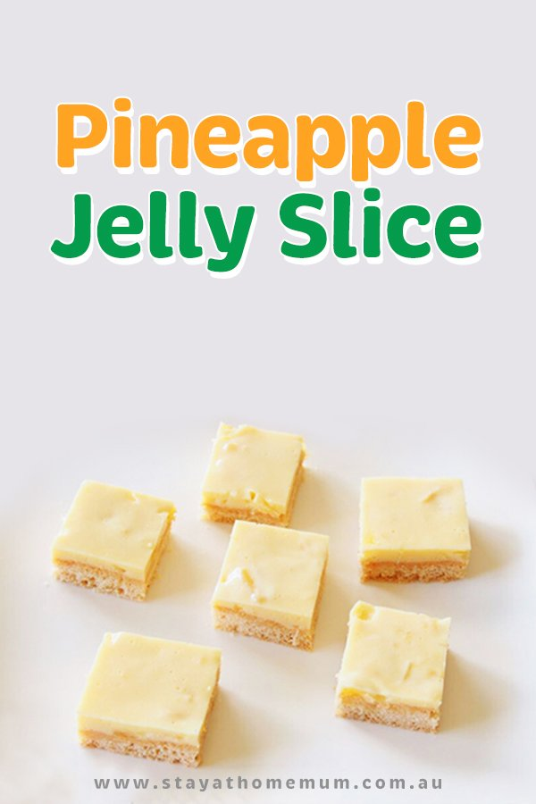 Pineapple Jelly Slice