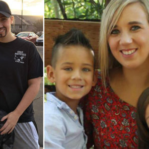 Single Mum's Twist On Dads and Doughnuts Day at her Son's School Goes Viral