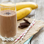Choc PB Banana Lactation Boosting Smoothie   Stay at Home Mum.com.au