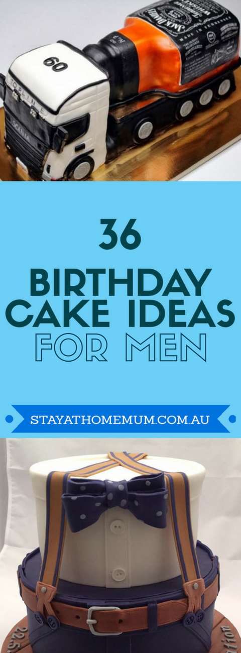 Amazing 36 Birthday Cake Ideas For Men Birthday Cards Printable Trancafe Filternl