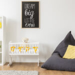 bigstock Beanbag Chair In Baby Room 141897272   Stay at Home Mum.com.au