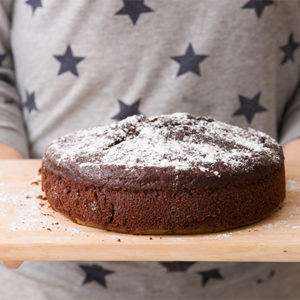 Super Easy One Bowl Chocolate Cake