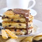 Vegan Chocolate Chip Pancakes | Stay at Home Mum
