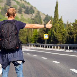 I Got Guilted Into Stopping By A Hitch-Hiker