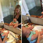 Mum Shares Unique Experience In Toilet Training Her Two-Week-Old Baby   Stay at Home Mum